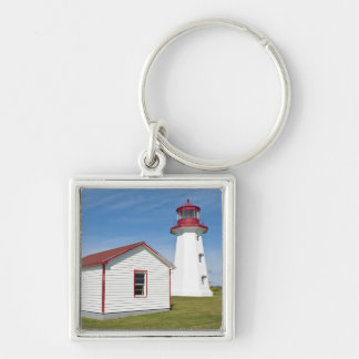 Quebec, Canada. Cap D'Espoir Lighthouse. Key Ring