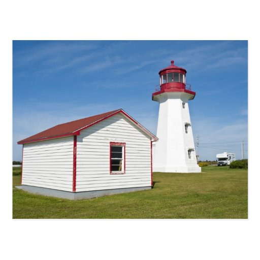 Quebec, Canada. Cap D'Espoir Lighthouse. Postcard