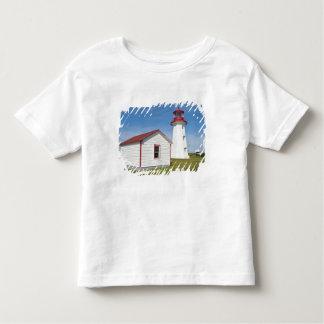 Quebec, Canada. Cap D'Espoir Lighthouse. Shirt