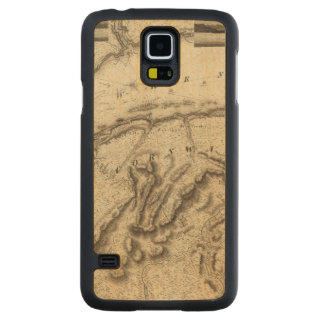 Quebec, Canada Carved Maple Galaxy S5 Case