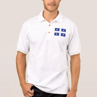 Quebec Canada flag Polo Shirt