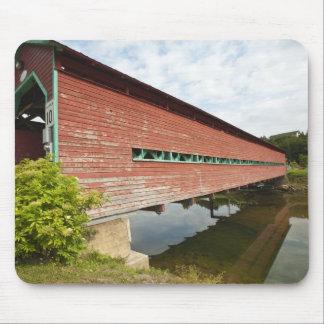 Quebec, Canada. Galipeault covered bridge in Mouse Mat