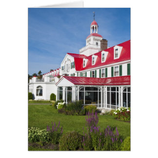 Quebec, Canada. Historic Hotel Tadoussac, 2 Card
