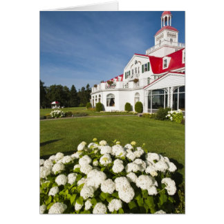 Quebec, Canada. Historic Hotel Tadoussac, 3 Card