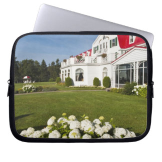 Quebec, Canada. Historic Hotel Tadoussac, 3 Laptop Sleeve