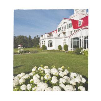 Quebec, Canada. Historic Hotel Tadoussac, 3 Notepad