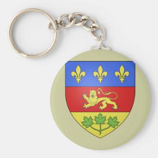 Quebec, Canada Key Ring