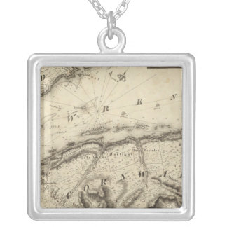 Quebec, Canada Silver Plated Necklace