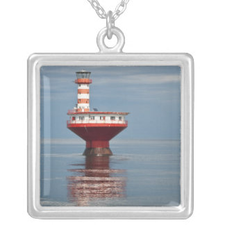 Quebec, Canada. Tadoussac. Silver Plated Necklace