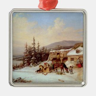 Quebec Christmas Ornament