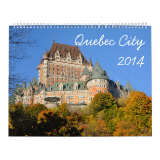 Quebec City 2014 (2p) Calendar