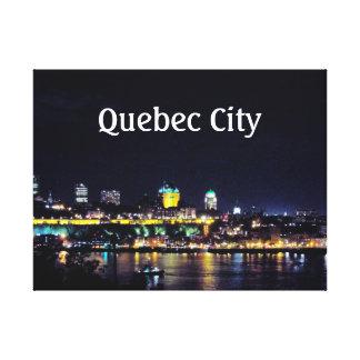 Quebec City Canvas Print