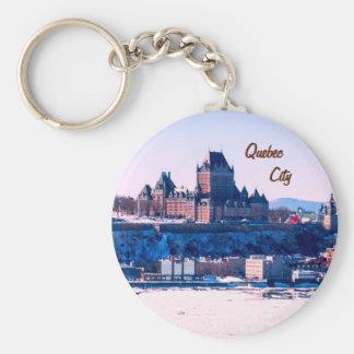 Quebec City Key Ring