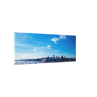 Quebec City Large Panorama Canvas Print