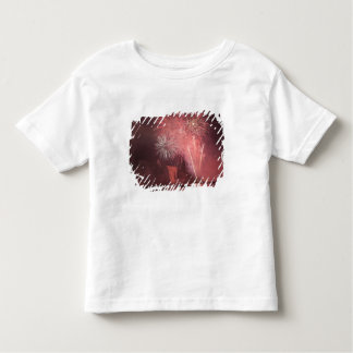 Quebec City, Quebec, Canada. Fireworks at Parc 2 Toddler T-Shirt