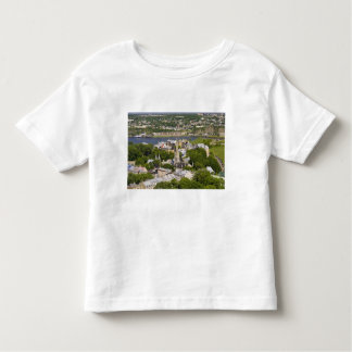 Quebec City, Quebec, Canada. Looking down on the Tshirts