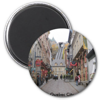 Quebec City Street Magnet