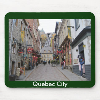 Quebec City Street Mouse Mat