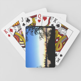 Quebec City Sunset Playing Cards