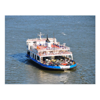 Quebec City to Levis Ferry Boat Postcard