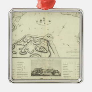 Quebec during the Siege Christmas Ornament