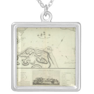 Quebec during the Siege Silver Plated Necklace