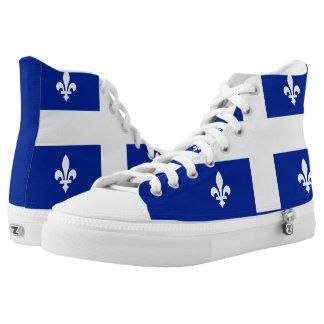 Quebec Flag High Tops