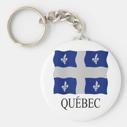 Québec flag key ring