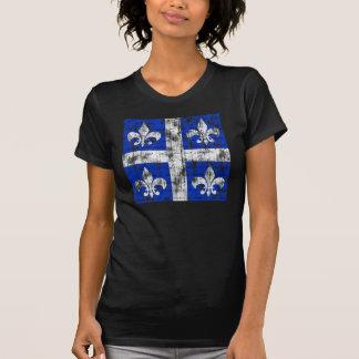 Quebec Fleur-de-lis Women's Dark Shirt