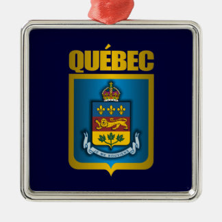 Quebec Gold Christmas Ornament