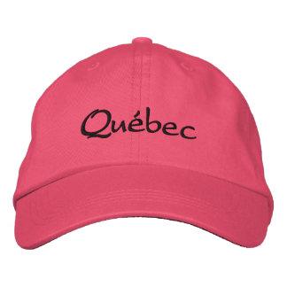 Québec,  Hat Embroidered Hat