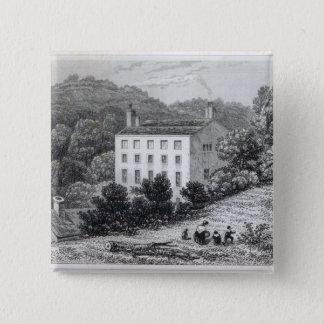 Quebec House 15 Cm Square Badge