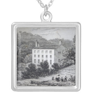 Quebec House Silver Plated Necklace