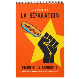 Quebec humour socialist anticommunist satire 2 calendars