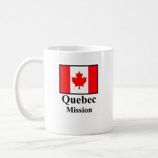 Quebec Mission Drinkware Basic White Mug