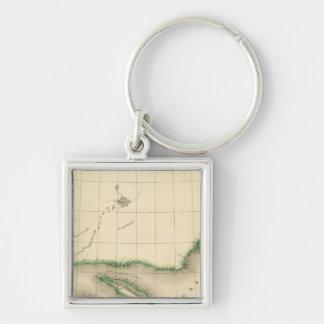 Quebec, Newfoundland Canada 36 Key Ring