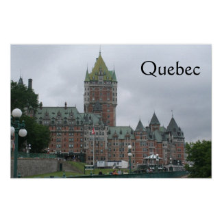Quebec poster