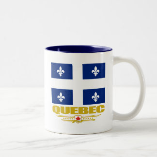 Quebec Pride Two-Tone Coffee Mug