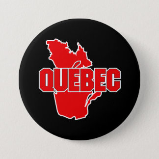 Quebec Province 7.5 Cm Round Badge