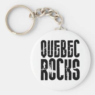 Quebec Rocks Key Ring