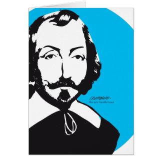 """Quebec Samuel Champlain 1608 """"To live together """" Card"""