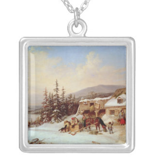 Quebec Silver Plated Necklace