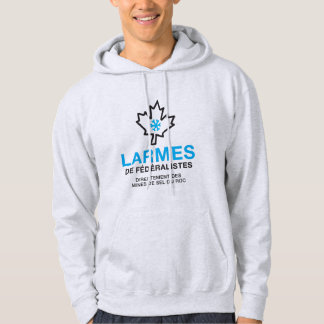 Quebec tears of fereralists humour hoodie