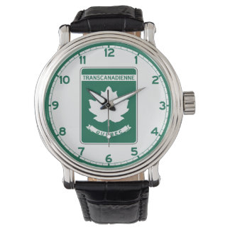 Quebec, Trans-Canada Highway Sign Watch