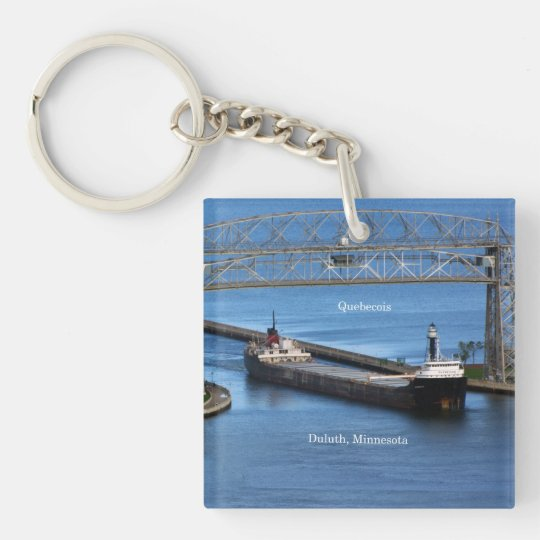 Quebecois Duluth key chain