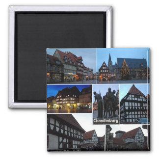 Quedlinburg Square Magnet