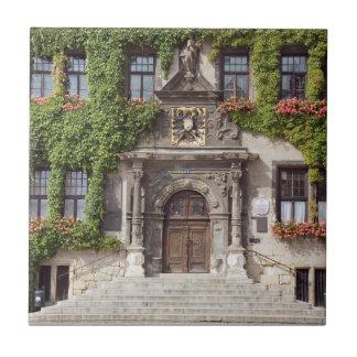 Quedlinburg Town Hall Tile