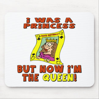 Queen 50th Birthday Gifts Mouse Pad