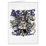 Queen Alice Carnivale Style Greeting Card