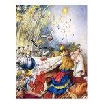 Queen Alice Experiences Fireworks in Wonderland